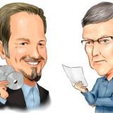Reed Hastings and Tim Cook