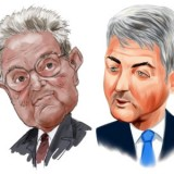George Soros and Bill Ackman
