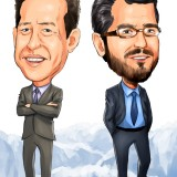 Andrew Feldstein and Stephen Siderow, Blue Mountain Capital, BlueMountain Capital