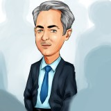 Bill Ackman in crowd