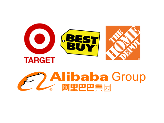 Target TGT Best Buy BBY Home Depot HD Aims At Alibaba